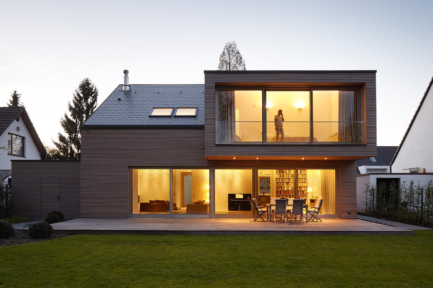 Düsseldorf Architekten houses michael reisch architekturfotografie
